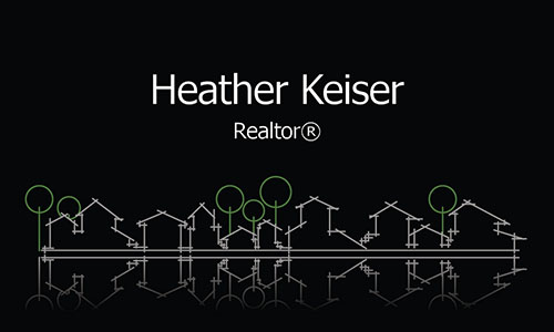 Unique Real Estate Business Card - Design #106291